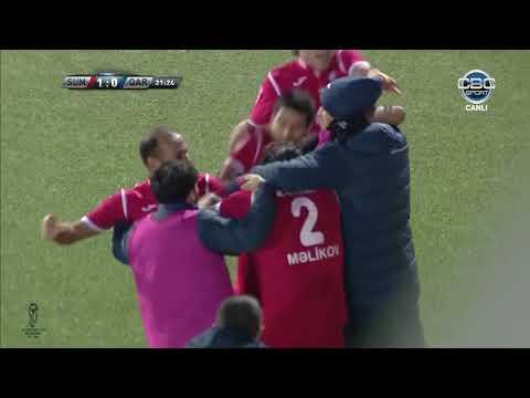 """Azərbaycan Kuboku 17/18, 1/4 final cavab oyunu """"Sumqayıt"""" 2-0 """"Qarabağ"""""""