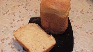 хлеб на сметане с луком  в хлебопечке