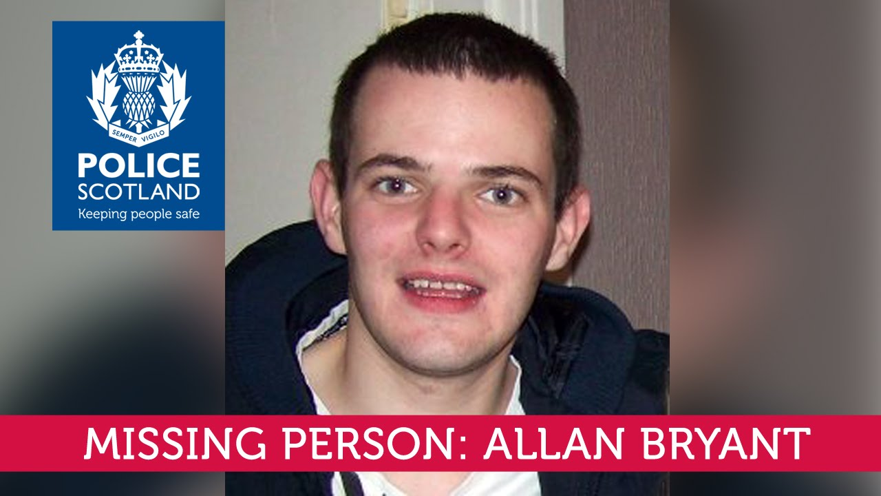 Missing Person: Allan Bryant   YouTube  Missing Person Words