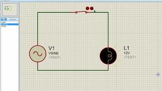 Proteus pour les débutants turorial#3 - la Création d'un Circuit alternatif