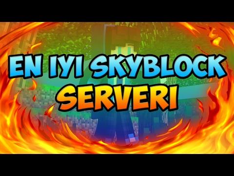 Türkiyenin En Iyi SkyBlock Serveri [Premiumsuz]