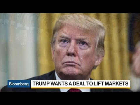 Trump Pushes Trade Team for a Deal With China