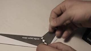 How To Make The Best Paperplane In The World - Aerofoil Profile Paper Plane NO OMNIWING