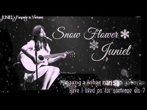 [Engsub] Snow Flower (Park Hyo Shin) - JUNIEL cover