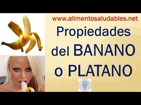 Propiedades del banano o platano rico en potasio mejora for Inmobiliaria o inmobiliaria