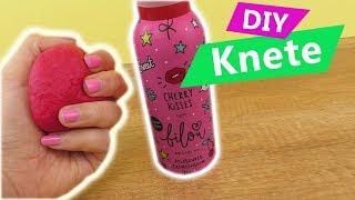 NEUE BILOU Duschknete in PINK Cherry Kisses | DIY Knete super einfach für Kids