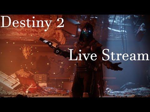 Destiny 2 Live Stream :grinding Warlock 1/9