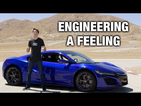 How The Acura NSX Connects Man To Machine