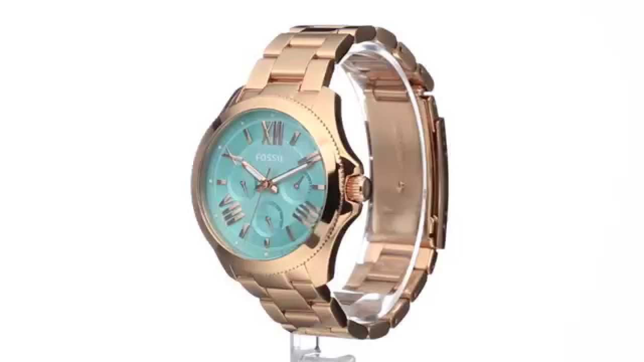 Fossil Cecile Am4540 Sku8586438 Youtube Ch2977