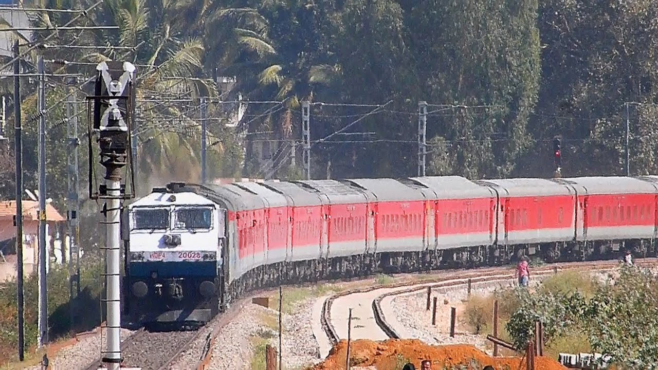 Image result for images of south western railway from bangalore to delhi