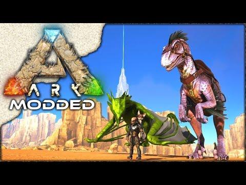 MODDED ARK: Scorched Earth ~ Ep 18 ~ xB's PET & MEGA RAPTOR!!