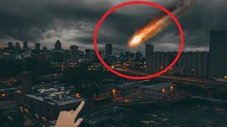 10 Quả cầu lửa Rơi Xuống Trái Đất Được Camera Quay Lại| 10 Meteorite Crashing Earth Caught On Camera