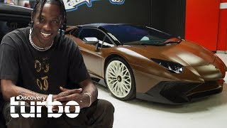 El nuevo Lamborghini chocolate del cantante Travis Scott | West Coast Customs | Discovery Turbo