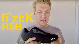 fizik R5b road cycling shoe review