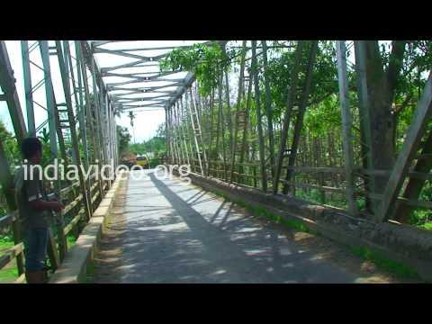 Nkwareu Bridge in Peren district, Nagaland