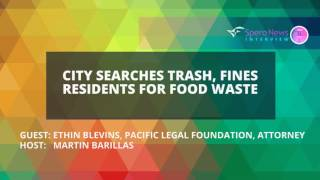 Seattle garbage collectors fine residents for food waste
