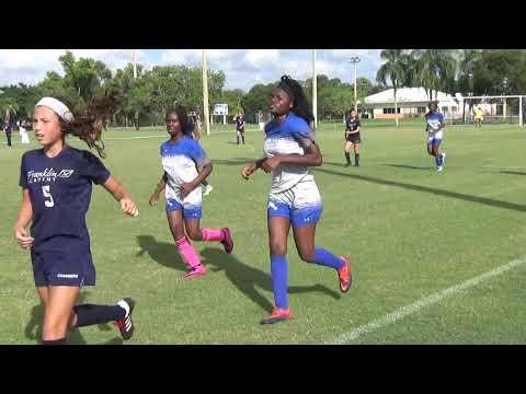 Franklin Academy Sunrise vs  Silver Lakes  1st quarter  9 11 2019