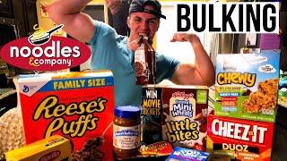 BULKING FOR HARDGAINERS | IIFYM FULL DAY OF EATING FOR SKINNY GUYS