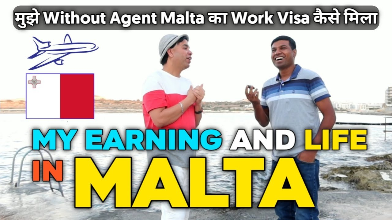 EARNING AND LIFE OF PAKISTANI IN MALTA | INDIAN AND PAKISTANI LIFE AND EARNING IN MALTA