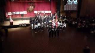 51st Annual MCSF Letherneck Ball Colorguard, 6th Communications Battalion