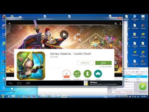 Cách Chơi Game  Castle Clash