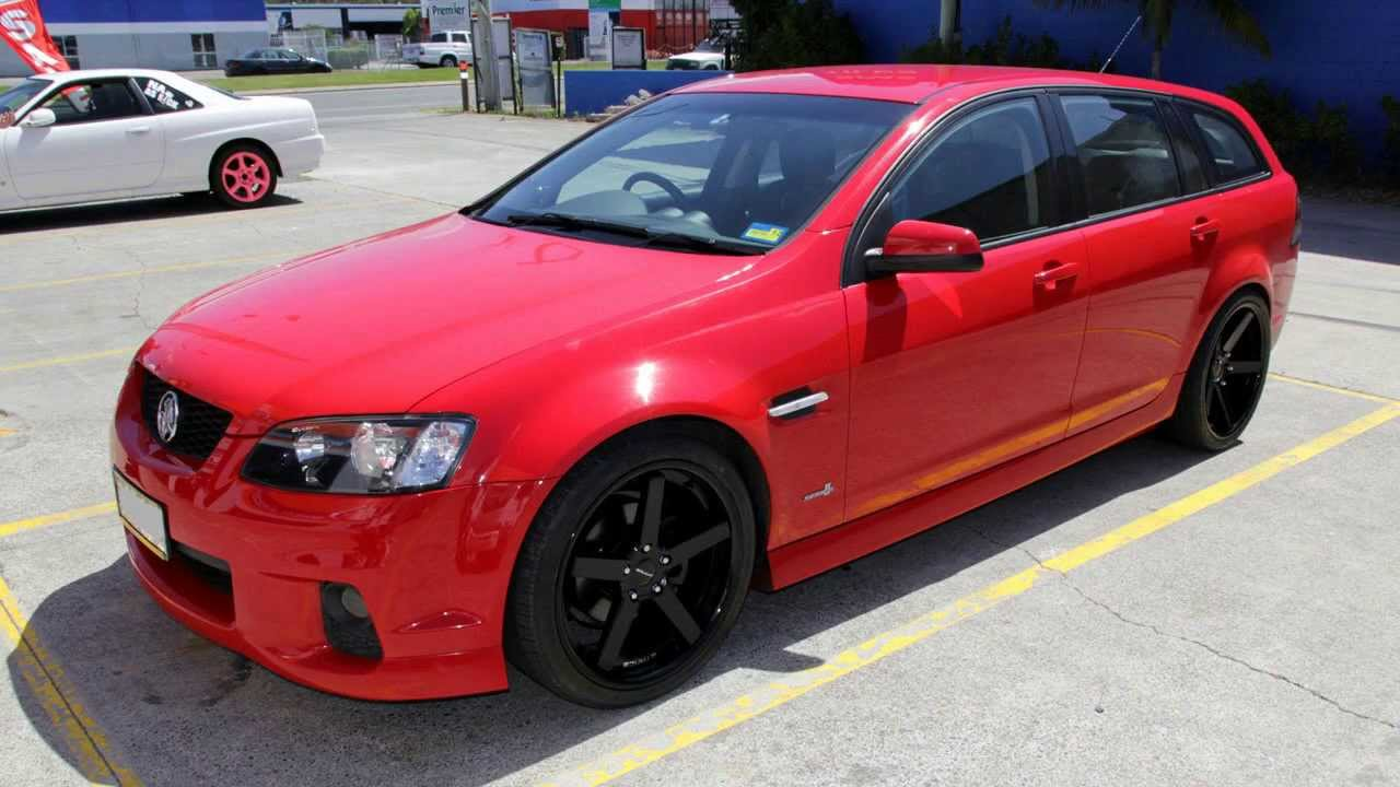 Holden VE Commodore Wagon 20 inch custom rims staggered Stance SC5IVE