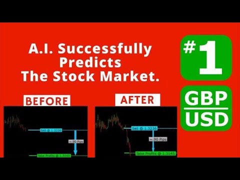Artificial Intelligence Trading - GBP-USD - Oct 5th, 2017. #1
