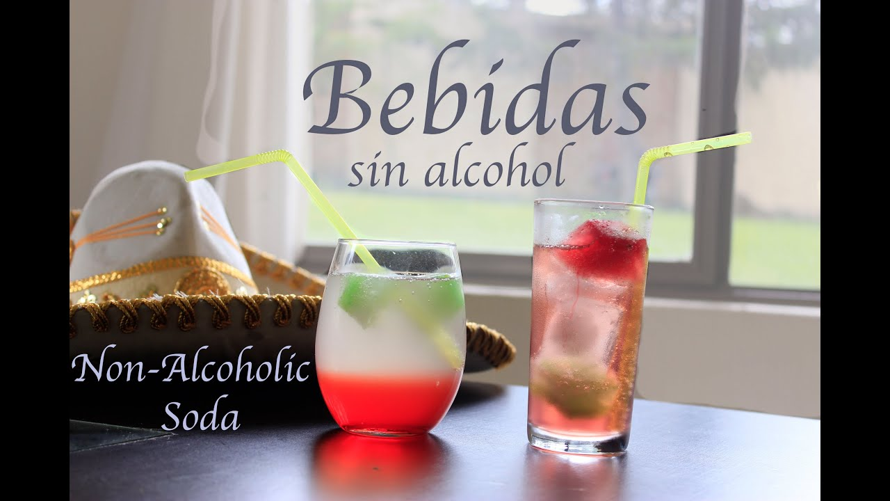 Bebidas de colores sin alcohol ¡Viva Mexico! - YouTube