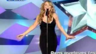 Mariah Carey - Through The Rain (Star Academy 2002)