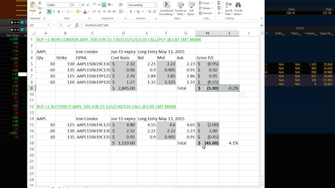 Thinkorswim RTD Excel