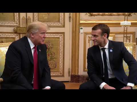 President Trump Participates in a 1:1 Bilateral Meeting with
