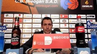 Video N. Lezcano tras el Cafés Candelas Breogán Prat