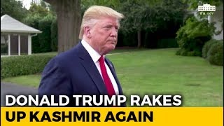 """""""If They Want Me To Intervene..."""": Donald Trump Rakes Up Kashmir Again"""