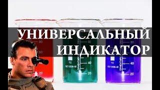 Универсальный индикатор на основе спирта. pH. Химия –Просто