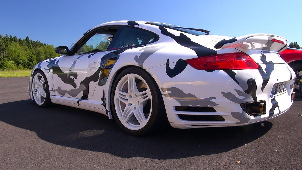 Camouflage Porsche 997 Turbo Vs Nissan Gt R Vs Audi R8 V10