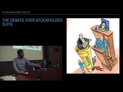 Stockholder Rights 03: Stockholder Lawsuits: Direct v Derivative