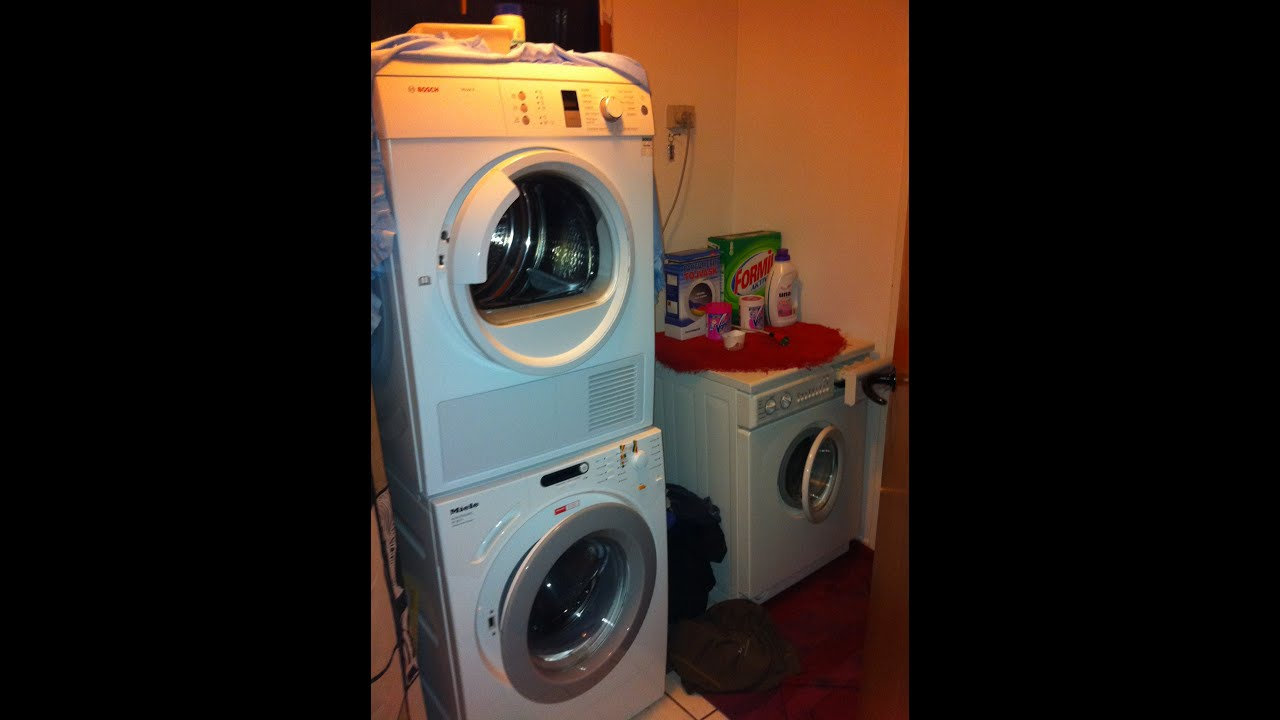 Wash In With The Aeg Amp Miele Washer Amp Bosch Dryer Youtube