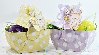 Easter Picnic Basket with Pretty Pink Posh
