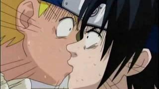 Beso De Sasuke Y Naruto