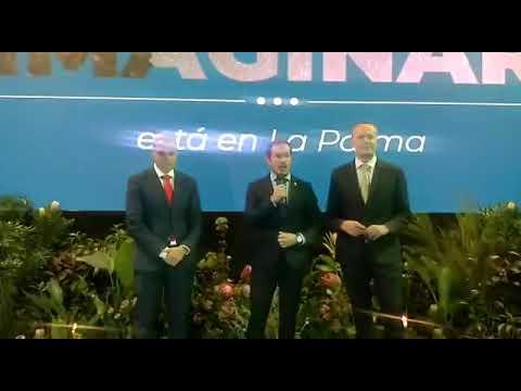 Intervención del Presidente del Cabildo de La Palma en Fitur.