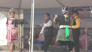 hmong nc new year 2016 ntxhais nkauj ntsuab by ntxawg lauj