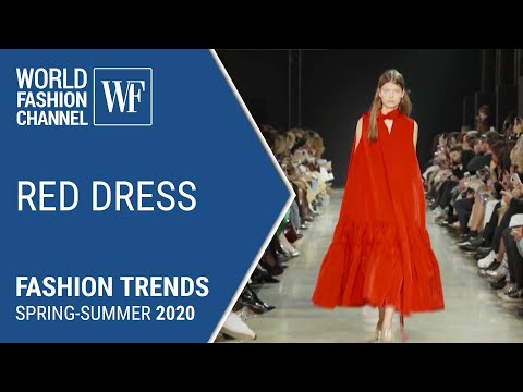 Red dress | Fashion trends spring-summer 2020