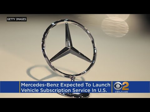 Mercedes-Benz To Launch Vehicle Subscription Service In US