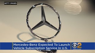 Mercedes-Benz To Launch Vehicle Subscription Service In US thumbnail