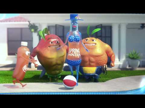 Water's Had A Fruity Fling! Rubicon Spring TV Ad 2017