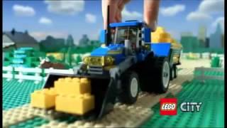 Klocki LEGO CITY 7636 - Kombajn & 7637 - Farma