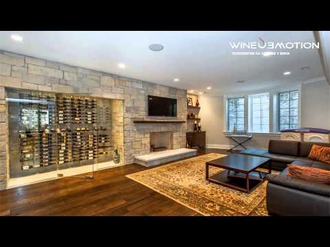 Хранение вина как элемент дизайна интерьера