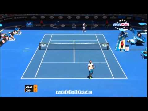 Marius Copil - 242 km/h serve (Australian Open fastest serve record)