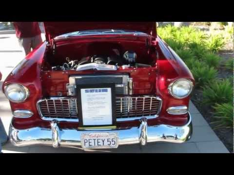 Classic cars - 1955 Chevrolet Bel Air Nomad Station Wagon with Corvette Engine