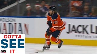 GOTTA SEE IT: Connor McDavid Chases Devan Dubnyk From The Net With A Spectacular Solo Effort